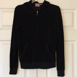 Juicy Couture - Black Jacket with hoodie